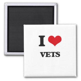 Imán Amo a veterinarios