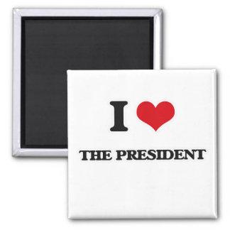 Imán Amo al presidente