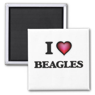 Imán Amo beagles