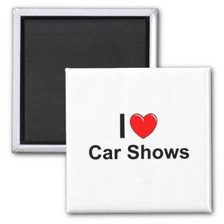 Imán Amo demostraciones de coche del corazón