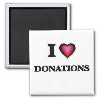 Imán Amo donaciones