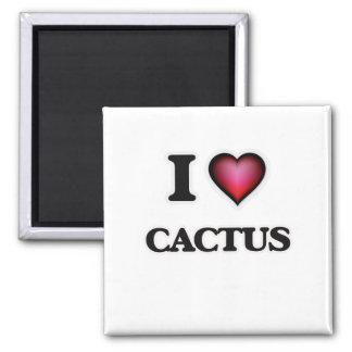 Imán Amo el cactus