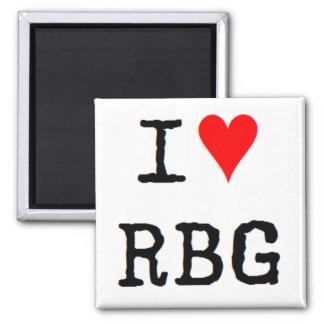 Imán amo el rbg