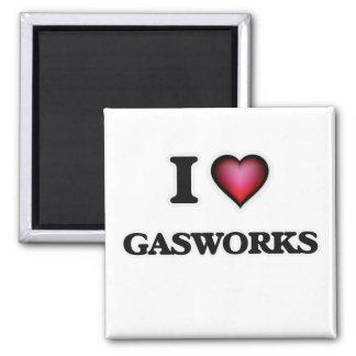 Imán Amo la fábrica de gas