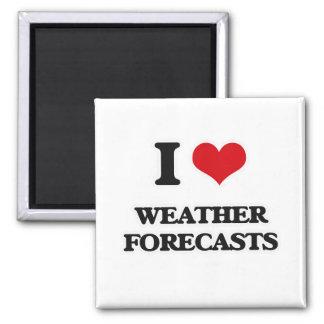 Imán Amo las previsiones metereológicas
