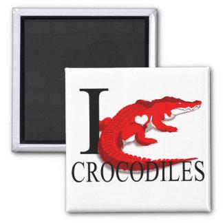 Imán Amo los imanes de los cocodrilos