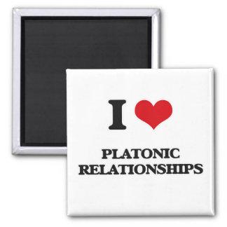 Imán Amo relaciones platónicas