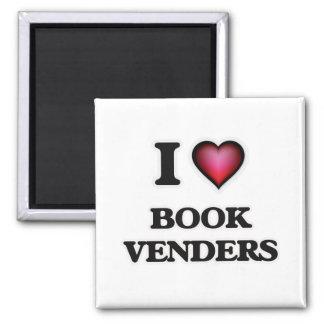 Imán Amo vendedores del libro