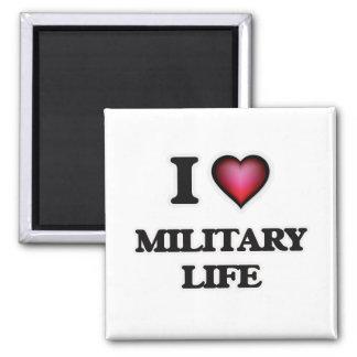 Imán Amo vida militar