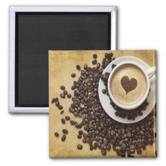 Imán Amor del café