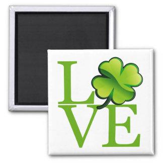 Imán Amor irlandés del trébol