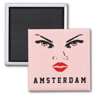 Imán Amsterdam, la mujer holandesa