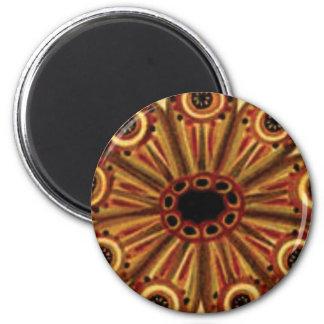 Imán anillos dobles de círculos
