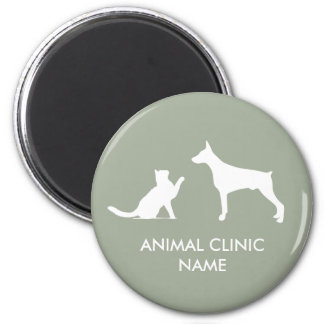 Imán animal de la clínica