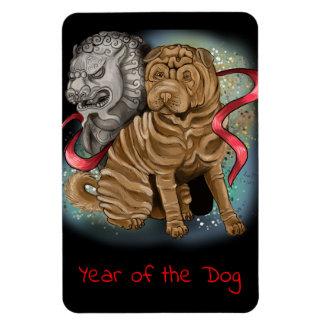 Imán Año chino del zodiaco del perro