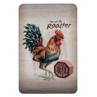 Imán Año del arte chino del zodiaco del gallo