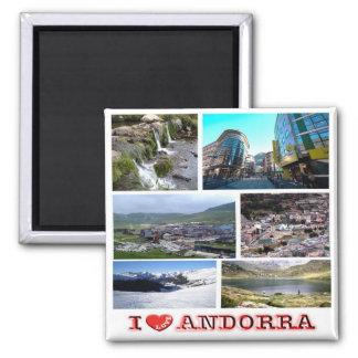 Imán ANUNCIO - Andorra - amor de I - mosaico del