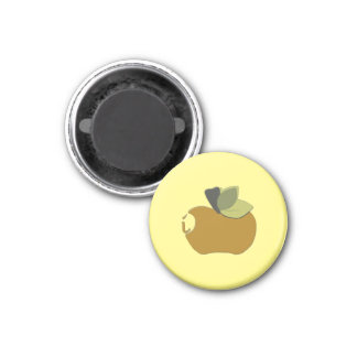 Imán Apple amarillo oscuro oscuro
