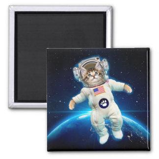 Imán Astronauta del gato - gato del espacio - amante