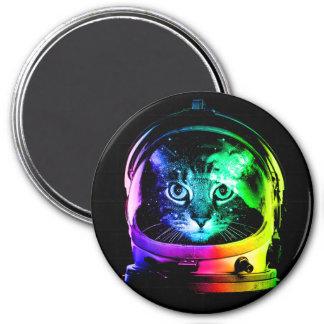 Imán Astronauta del gato - gato del espacio - gatos