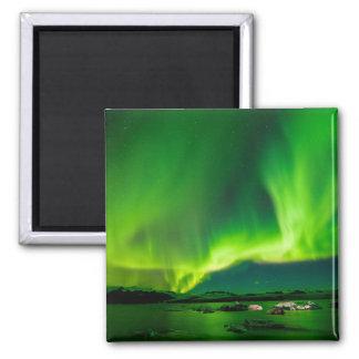 Imán Aurora boreal de Islandia