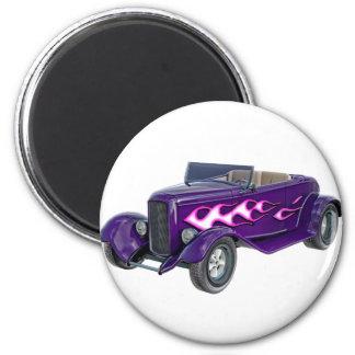 Imán Automóvil descubierto de 1932 púrpuras con la