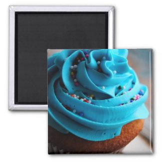 Imán azul de la fotografía de la magdalena