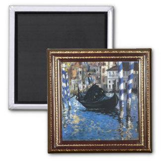 Imán azul de la obra maestra de Manet Venecia