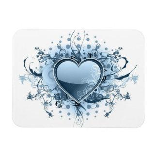 Imán azul del premio del corazón de Emo