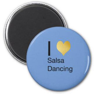 Imán Baile juguetónamente elegante de la salsa del