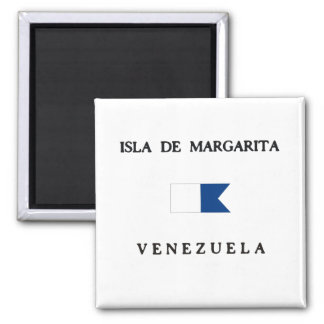 Imán Bandera alfa de la zambullida de Isla de Margarita