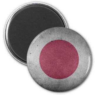 Imán Bandera apenada vintage de Japón