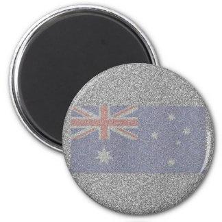 Imán Bandera australiana brillante