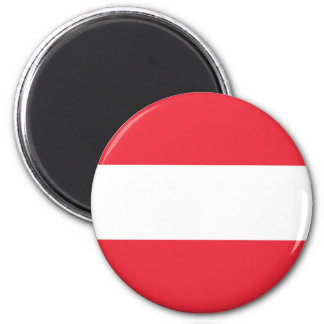Imán Bandera austríaca patriótica