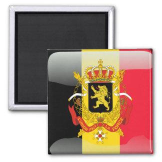 Imán Bandera brillante belga