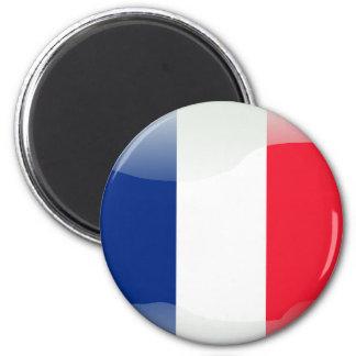 Imán Bandera brillante francesa