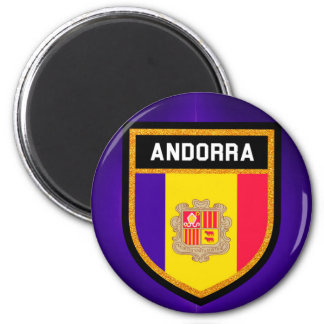 Imán Bandera de Andorra