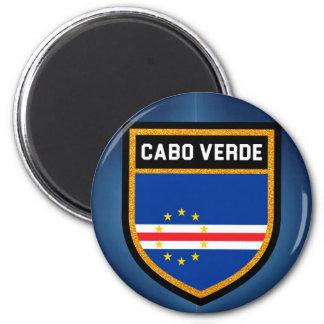 Imán Bandera de Cabo Verde