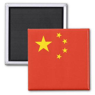 Imán Bandera de China