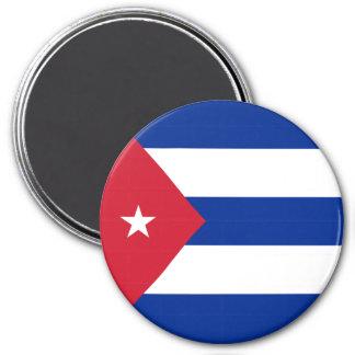 Imán Bandera de Cuba