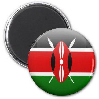 Imán Bandera de Kenia
