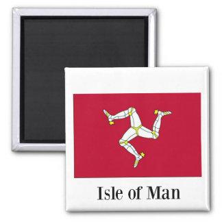 Imán Bandera de la isla del hombre