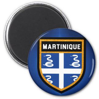 Imán Bandera de Martinica