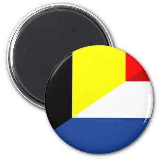 Imán bandera de país de la bandera de Bélgica del