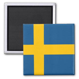 Imán Bandera de Suecia