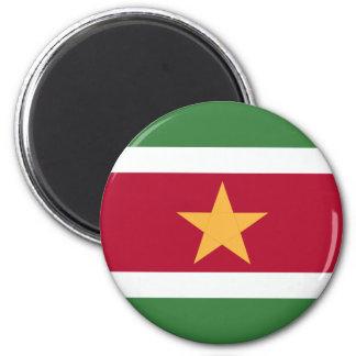 Imán Bandera de Suriname