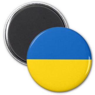 Imán Bandera de Ucrania - bandera ucraniana -