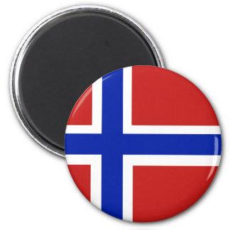 Imán Bandera del escandinavo de Noruega