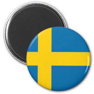 Imán Bandera del flagga de Suecia - de Sveriges -