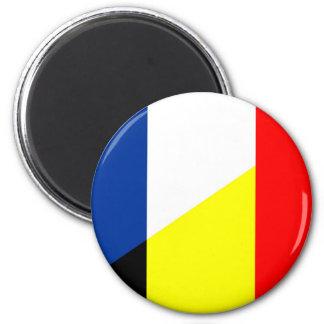 Imán bandera del símbolo del país de la bandera de